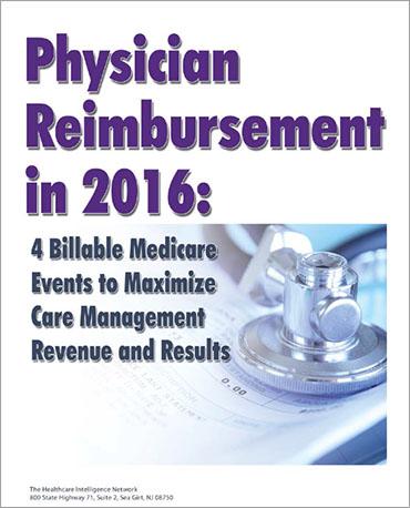 Physician Remibursement in 2016