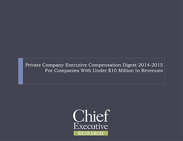 Private Co CEO and Exec Comp Report - Small Company Edition