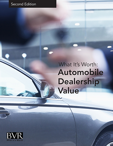 Auto Dealership Firms Special Report 2016