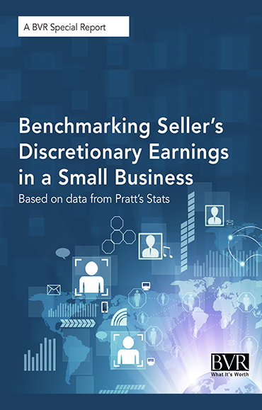 Benchmarking Seller's Discretionary Earnings in a Small Business