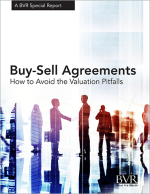 Buy Sell Agreements: How to Avoid the Valuation Pitfalls Special Report Cover
