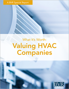 Valuing HVAC Companies