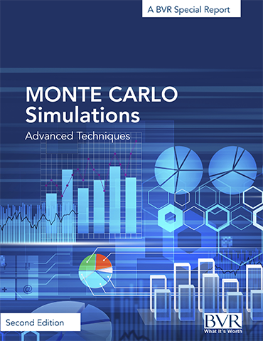 Monte Carlo Simulations Advanced Techniques