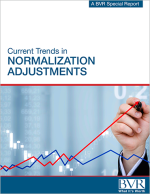 Current Trends in Normalization Adjustments Special Report