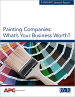 Painting Companies: What 's Your Business Worth? Cover