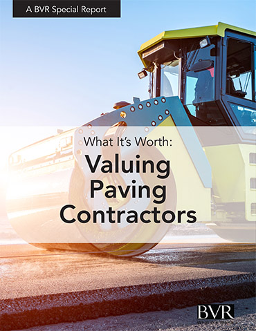 Paving Contractors Special Report