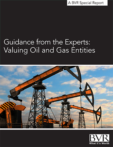 Valuing Oil & Gas Entities