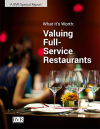 What It's Worth: Valuing Full-Service Restaurants