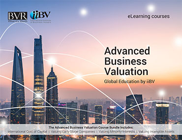 Advanced Business Valuation eLearning Course