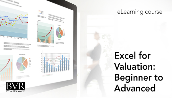 Excel for Valuation: Beginner to Advanced