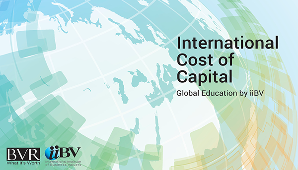 International Cost of Capital  eLearning