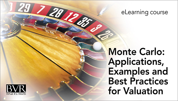 Monte Carlo: Applications, Examples and Best Practices for Valuation