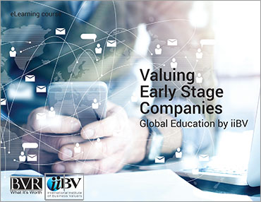 Valuing Early Stage Company eLearning Course
